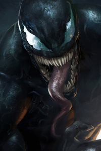 720x1280 Venom Danger Art