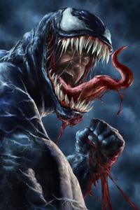 640x1136 Venom Danger Artwork