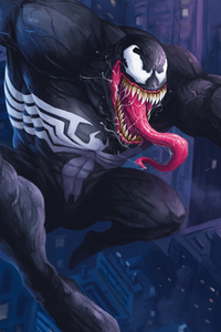 Venom Digital 4k Artwork
