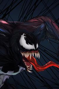 Venom Digital Art 5k