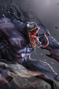 Venom Digital Artwork 4k