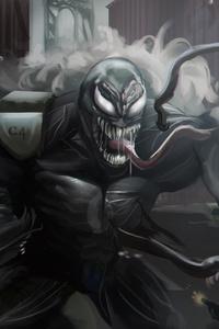 Venom Digital Artwork 5k