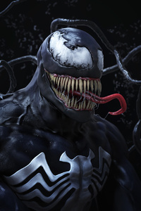 Venom Digital Artwork HD