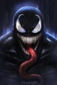 Venom Digital Fan Art 5k