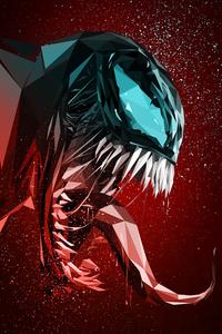Venom Digital Illustration 4k