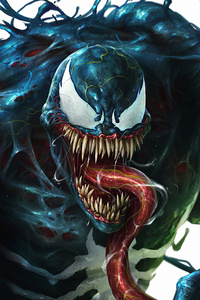 800x1280 Venom Evil 4k