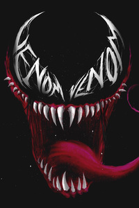 Venom Eye Logo Art