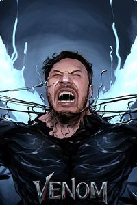 Venom Fan Art 4k