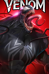 1280x2120 Venom Hd Artwork