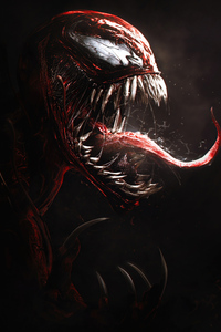 1242x2688 Venom Let There Be Carnage 5k