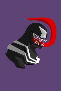 240x400 Venom Minimalist 4k