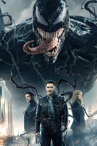 Venom Movie 2018 Official 4k Poster