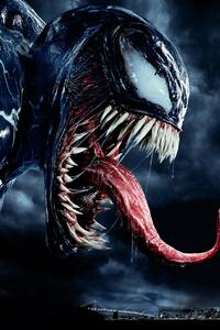 1080x2280 Venom Movie Japanese Poster