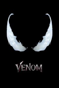 720x1280 Venom Movie Logo 4k