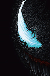 2160x3840 Venom Movie New Poster Artwork