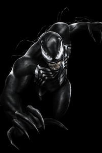 Venom Movie Poster Art