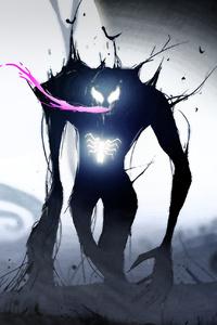 Venom Neon Art