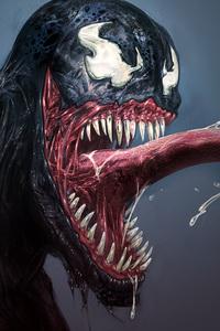 Venom Smiling 4k