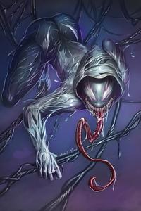 1280x2120 Venom Spider Girl 4k