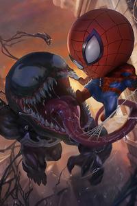 Venom Spiderman Chibi