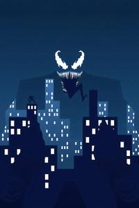 Venom Superhero Digital Art 4k