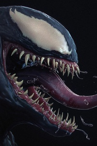 Venom Supervillain Art