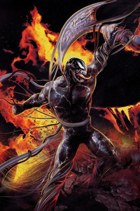 2160x3840 Venom Vs Riot 8k