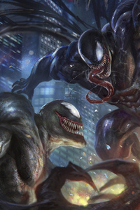 Venom Vs Riot Artwork