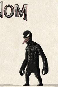 Venom Vs Riot Digital Art 4k