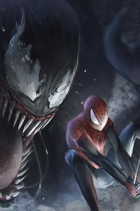 Venom Vs Spidery 4k