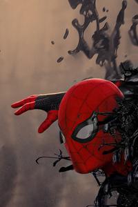 480x854 Venom X Spider Man 4k