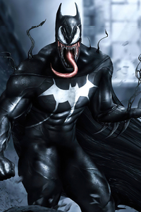 Venomized Batman 4k