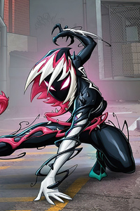720x1280 Venomized Gwen Stacy