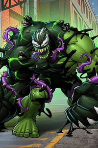 640x1136 Venomized Hulk