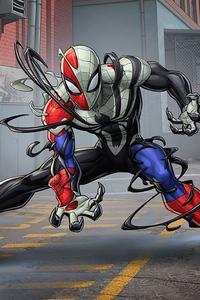 Venomized Spider Man