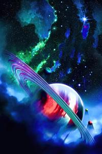 1080x2160 Venture Blue Planet 5k