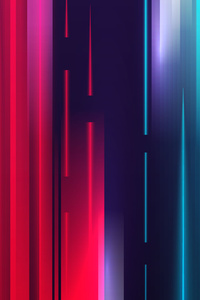 720x1280 Vertical Lines Colorful Abstract 5k