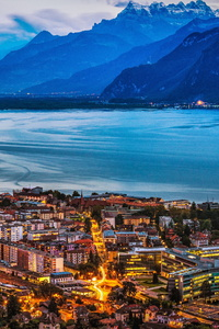 240x400 Vevey Switzerland 4k