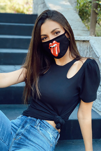 800x1280 Victoria Justice Mask 4k