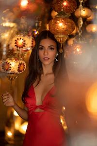 1080x2160 Victoria Justice Modeliste Magazine 4k