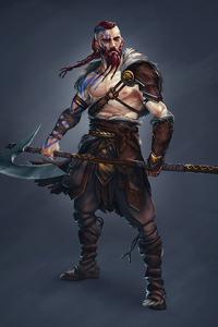 2160x3840 Viking Warrior 4k