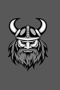 320x480 Vikings Minimalism