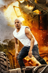 1242x2688 Vin Diesel As Dominic Toretto In Fast 9 5k
