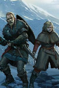 Vinland Saga Assassins Creed Valhalla 4k