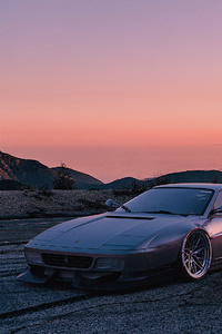 1080x1920 Vintage Ferrari And Lamborghini