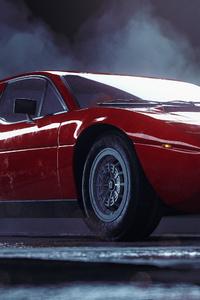1080x2280 Vintage Maserati