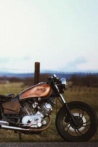 1125x2436 Vintage Motorcyle