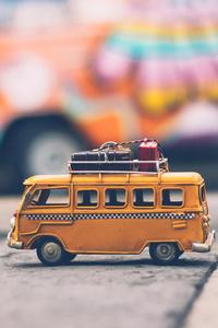 Vintage Volkswagen Van Toy