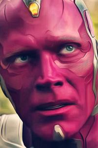 Vision In Avengers Infinity War 2018 4k