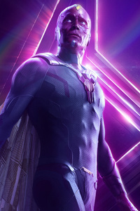 Vision In Avengers Infinity War New Poster